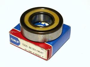 high temperature  IN BOX SKF BALL BEARING 25MM X 52MM X 15MM 7205 BECBY / W64C