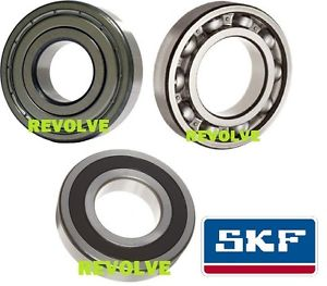 high temperature Genuine SKF 6300 Series Deep Groove Ball Bearing – 2RS ZZ Open – Choose Size