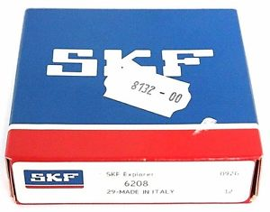 high temperature FACTORY SEALED SKF 6208 BALL BEARING