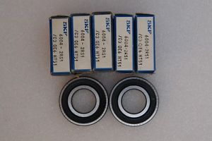 high temperature SKF 6004 2RS JEM  Deep Groove Ball Bearing( Lot of 7 )