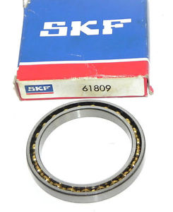 high temperature NIB SKF 61809 THIN SECTION BALL BEARING
