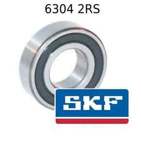 high temperature 6304 2RS Genuine SKF Bearings 20x52x15 (mm) Sealed Metric Ball Bearing 6304-2RSH