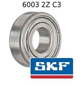 high temperature 6003 2Z C3 Genuine SKF Bearings 17x35x10 (mm) Sealed Metric Ball Bearing 6003-ZZ