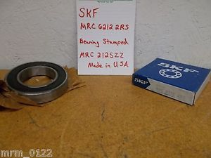 high temperature SKF MRC 6212-2RS 212SZZ Ball Bearing New