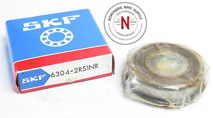 high temperature SKF 6304-2RS1NR DEEP GROOVE BALL BEARING, 20mm x 52mm x 15mm, FIT C0