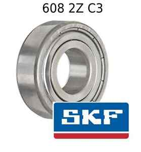 high temperature 608 2Z C3 Genuine SKF Bearings 8x22x7 (mm) Sealed Metric Ball Bearing 608-ZZ