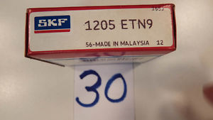 "high temperature ""  OLD"" SKF 1205ENT9   Self Aligning  Ball Bearing   SEALED BOX"