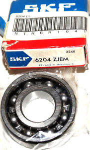 high temperature NIB SKF 6204-ZJEM BALL BEARING SINGLE ROW 6204ZJEM