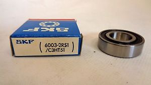 high temperature  IN BOX SKF 6003-2RS1/C3HT51 SEALED BALL BEARING