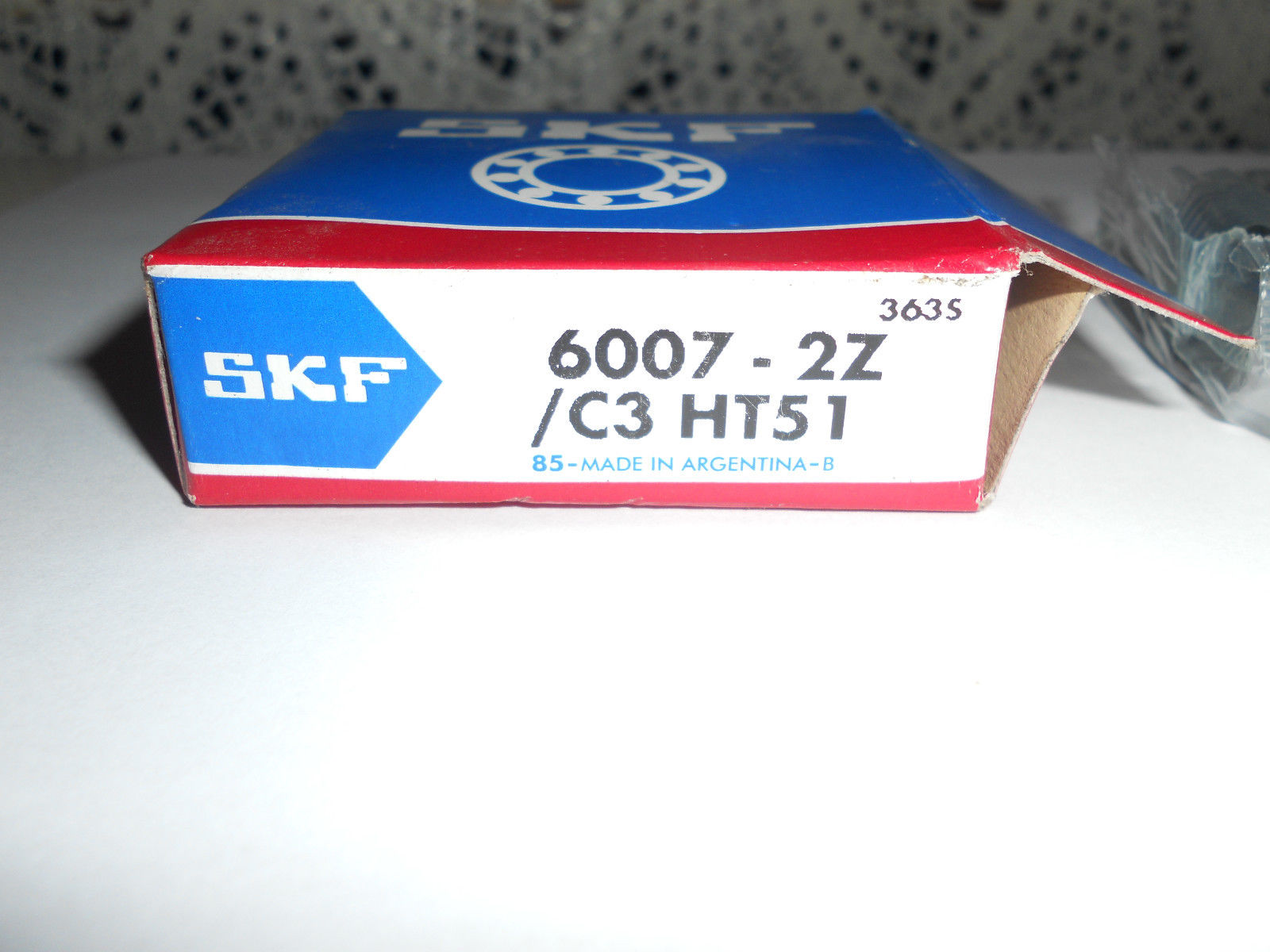high temperature ** Brand New NIB SKF 6007-2Z/C3HT51 sealed roller ball bearing **