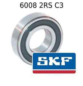 high temperature 6008 2RS C3 Genuine SKF Bearings 40x68x15 (mm) Sealed Metric Ball Bearing 2RSH