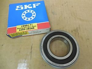 high temperature SKF Rubber Sealed Ball Bearing w. Snap Ring 6209 2RSNRJEM 6209-2RS1NR/C3GJN New