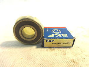 high temperature  IN BOX SKF 6204-2RS1/C3QE6HT51 BALL BEARING