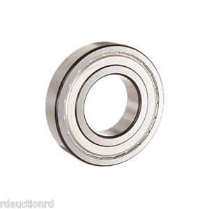 high temperature SKF 6206-2ZJEM Radial Ball Bearing, Shielded Bearing, 30mm Bore Dia., 62mm OD