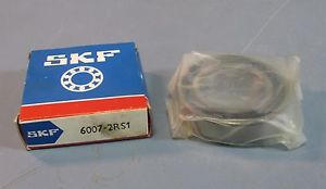 high temperature SKF 6007-2RS1 Sealed Deep Groove Ball Bearing 35 x 62 x 14mm Wide NIB
