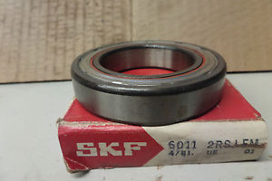 high temperature SKF Ball Bearing 6011 2RSJ EM 60112RSJEM 6011 C3 55MM ID 90MM OD 18MM WIDTH