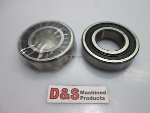 "high temperature Lot of 2 SKF 6206-2RS1 Enclosed Ball Bearing 1-1/4"" Inner, 2-1/2"" Outer"