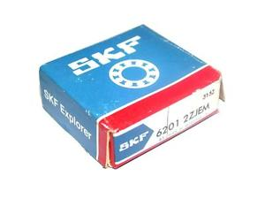 high temperature BRAND  IN BOX SKF BALL BEARING 6201 2ZJEM (2 AVAILABLE)