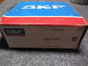 high temperature  SKF 3310 A/C3 Angular Contact Ball Bearing – 50MM X 110MM X 44.4MM Open