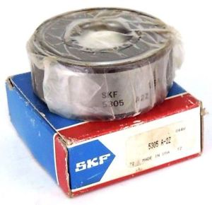 high temperature NIB SKF 5305-A-2Z DOUBLE ROW SHIELDED BALL BEARING 5305A2Z