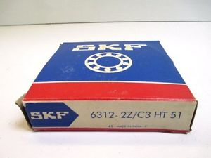 high temperature SKF 6312-2Z/C3 HT51 DEEP GROOVE BALL  BEARING MANUFACTURING CONSTRUCTION
