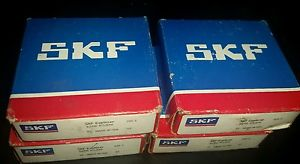 high temperature SKF  Lot of 4pc.  6206 RSJEM Rubber Seal Ball Bearings 30x62x16   Made in USA