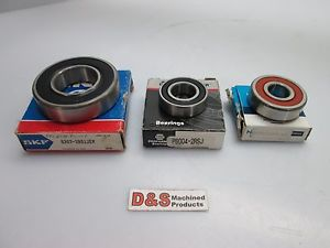 high temperature SKF 6207-2RS1JEM Ball Bearing w/NAPA P6004-2RSJ Bearing w/NTN 6303C3 Bearing