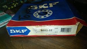 high temperature SKF 6022 2Z DEEP GROOVE BALL BEARING