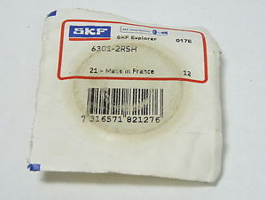 high temperature SKF 6301-2RSH Sealed Ball Bearing 12x37x12mm !  !